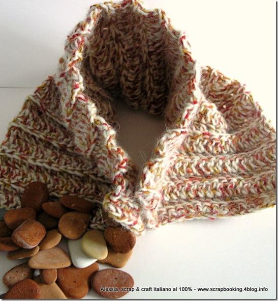 Neckwarmer, scaldacollo per bambini a crochet