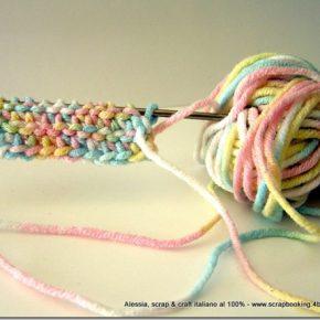 Prime prove con l'uncinetto tunisino o afghan crochet