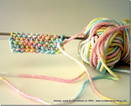 Note Personali Sulluncinetto Tunisino Afghan Crochet Alessia