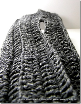 Lavori in corso: prototipo di arm warmers in lana e seta