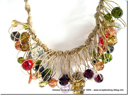 Paper and More Bis, Necklace
