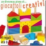 Giveaway giocattoli creativi + premietti :)