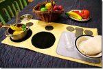 Regali di Natale DIY: la cucina portatile in feltro