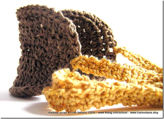 Regali Eco Chic Craft Christmas a crochet: mascherina per dormire