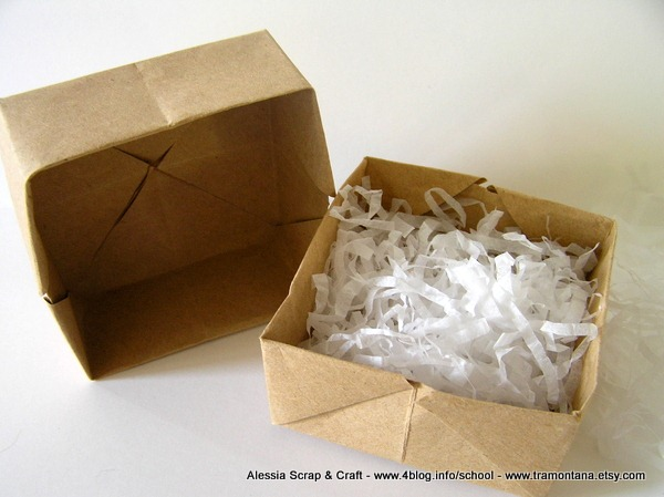 Conosciuto Lavoretti di Natale: scatoline di carta ad origami Eco Chic Craft PM63