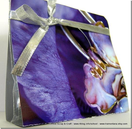 Lavoretti di Natale: card porta dolcetti riciclata eco chic craft Christmas