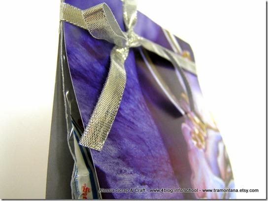 Lavoretti di Natale: card porta dolcetti eco chic craft Christmas