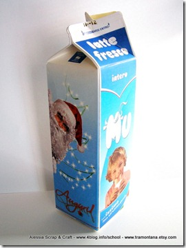 Lavoretti di Natale: i vasi riciclati eco chic craft Christmas