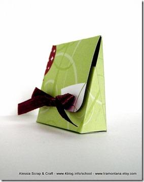 Lavoretti Natale: scatolina per piccoli regali, velocissima  ed eco chic craft Christmas