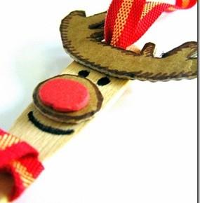 Lavoretti di Natale: le renne eco chic craft Christmas con i bastoncini del gelato