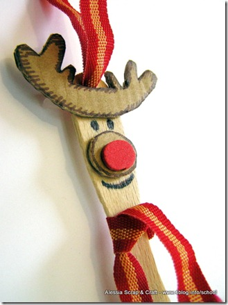 Lavoretti Di Natale Con I Bastoncini Del Gelato.Lavoretti Di Natale Le Renne Eco Chic Craft Christmas Con I