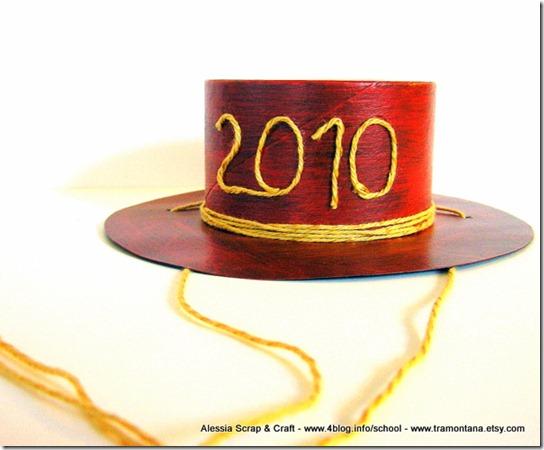 Decorazioni per capodanno: ridicoli cappellini fai da te - Alessia, scrap & craft...Alessia ...