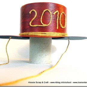 Decorazioni per capodanno: ridicoli cappellini fai da te