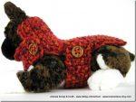 """Crochet: ancora un cappottino per cani """"toy"""" all'uncinetto"""