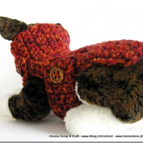 "Crochet: ancora un cappottino per cani ""toy"" all'uncinetto"