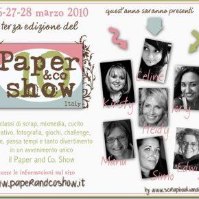 PACS ITALY a marzo, scrapbooking italiano in prima linea