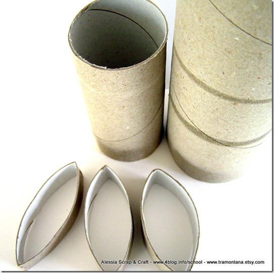 San valentino la ghirlanda di cuori in cartone riciclato - Decorazioni di natale con materiale riciclato ...