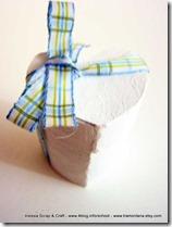 Decorazioni di San Valentino: scatoline a forma di cuore fai-da-te
