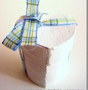 Decorazioni di San Valentino: scatoline fai-da-te a forma di cuore