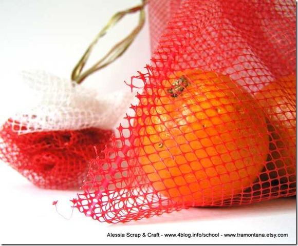 Spugnetta di nylon fai-da-te, per lavare i piatti riciclando