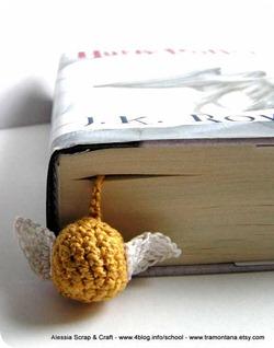 Il boccino d'oro e altri segnalibri a crochet
