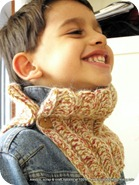 Rolling Stones, kids and children alpaca cowl/necwarmer