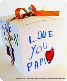 Lavoretti per la festa del papà: un notes speciale