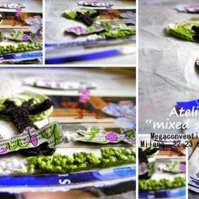 "Scrapbooking: anteprima Atelier ""mixed scrap"""