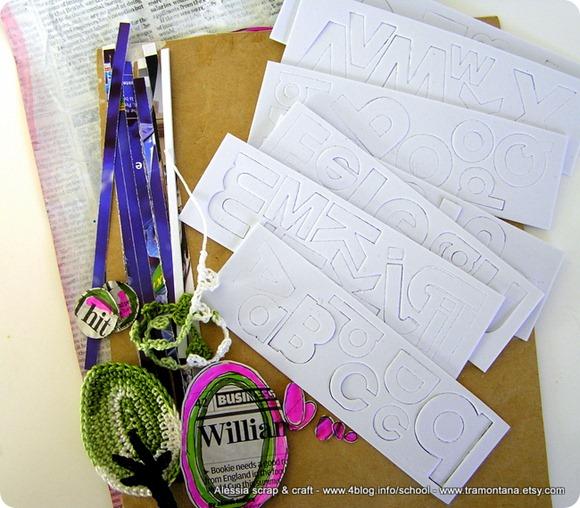 """Atelier """"mixed scrap"""" ecco kit e dettagli per partecipare"""