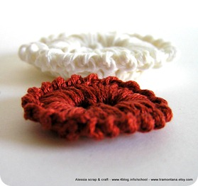 Crochet e bottoni, un'accoppiata vincente