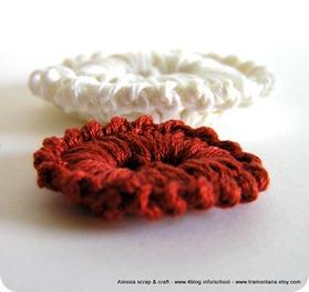 Crochet e bottoni, un'accoppiata vincente