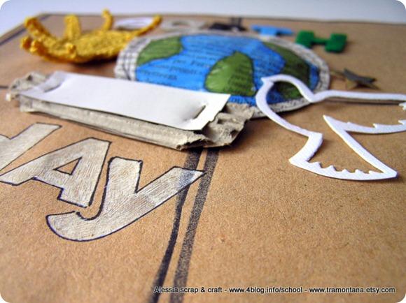 Earth Day scrapbooking: una pagina e un nuovo kit