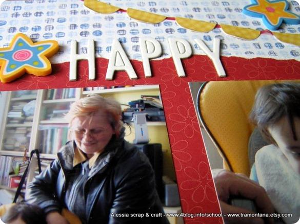 Happy Birthday, un LO 30x30 doppio