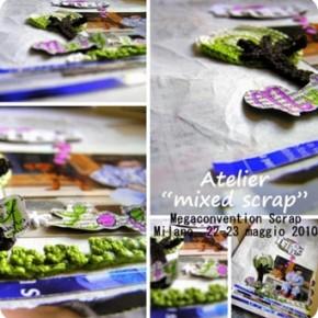 "Giveaway: vinci il mio ""Atelier Mixed-Scrap"" a Milano"