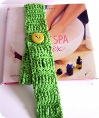 il segnalibro a cintura verde