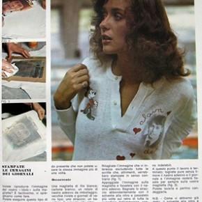 Tecniche anni '70: trasferire le immagini di giornali, riviste e fotografie
