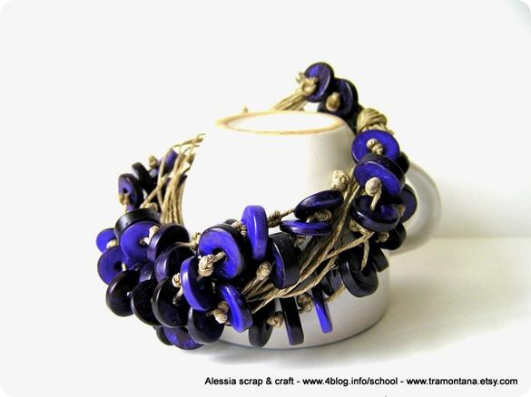 "Bijoux ""Deep Purple"" nuovo modello + pattern"