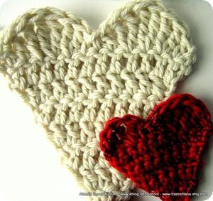Cuori a crochet (pattern)