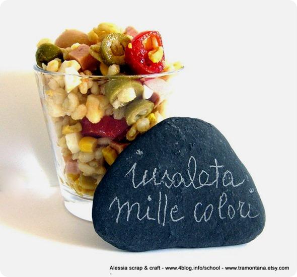 insalata mille colori di orzo e kamut