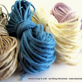 Filato di lino in matassine: altri colori…