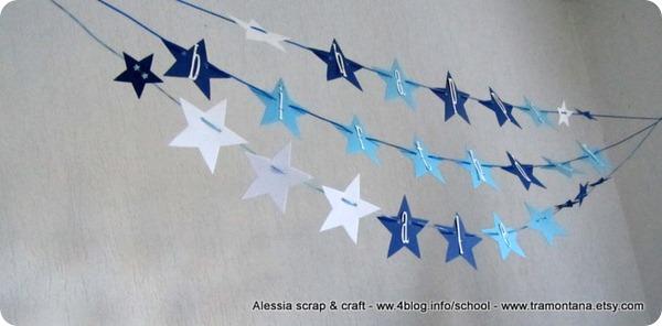 Feste e compleanni: una ghirlanda di stelle
