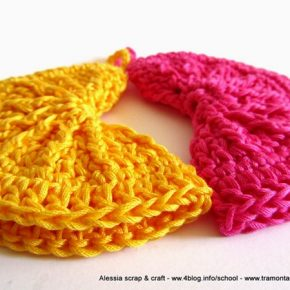 Regali di Natale a crochet: presine clean & simple
