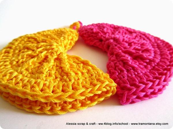 Regali di Natale a crochet: presine clean & simple