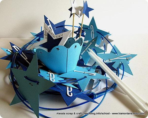Feste e compleanni: decorare con un set pieno di stelle