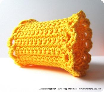 """Portatovagliolo, un altro crochet pattern """"clean & simple"""""""