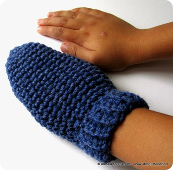 "Muffole a crochet, pattern ""clean & simple"" numero 13"