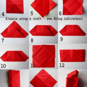 Gift box, scatoline regalo fatte ad origami
