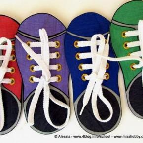 Lavoretti con i bambini: come imparare ad allacciarsi le scarpe da soli
