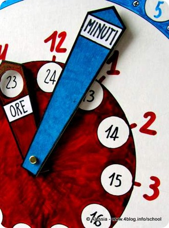 Lavoretti con i bambini: l'orologio magico per imparare a leggere l'ora