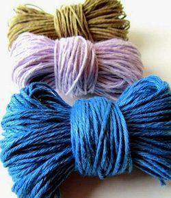 Il lino colorato è bellissimo!